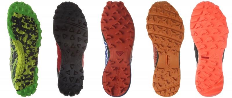 Die Profile der OCR Schuhe aus dem Test