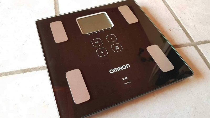 Die smarte Körperwaage Omron Viva