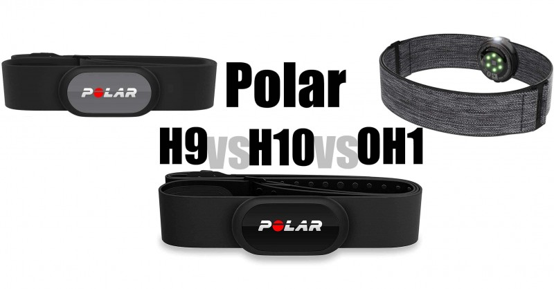 Polar H9 vs H10 vs OH1 - Where are the differences?