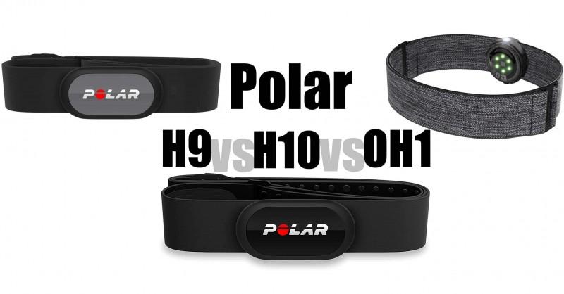 Polar H9 vs H10 vs OH1 - ¿Dónde están las diferencias?