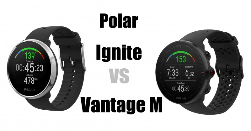 Polar Ignite vs Polar Vantage M - Dove sono le differenze?