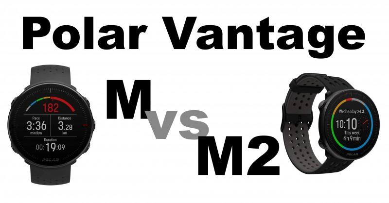 Polar Vantage M vs M2 - Wo sind die Unterschiede?