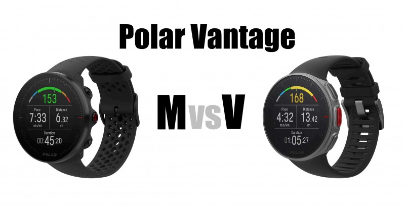 Polar Vantage M vs V - Where are the differences?