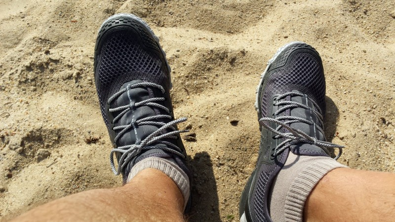 Die dritte Generation des Reebok All Terrain Super an meinen Füßen