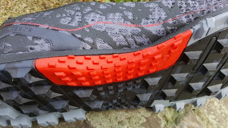 Der Schuh ist für Rope Climbs optimiert