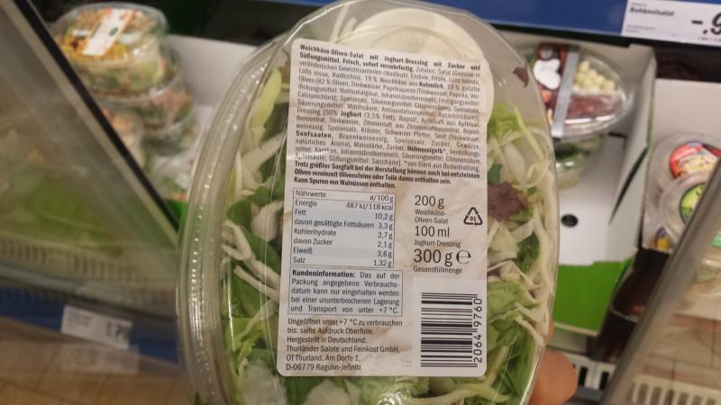 Salat lidl nahrwerte