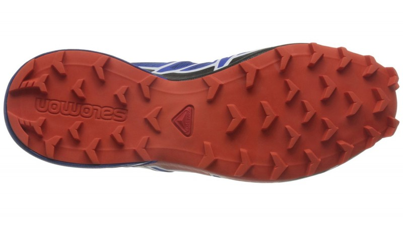Die Sohle vom Salomon Speedcross 4