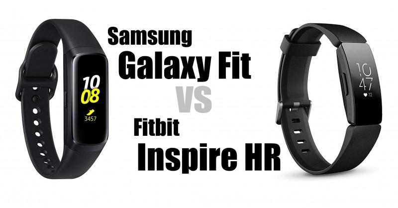Samsung Galaxy Fit vs Fitbit Insire HR - Welcher ist besser?