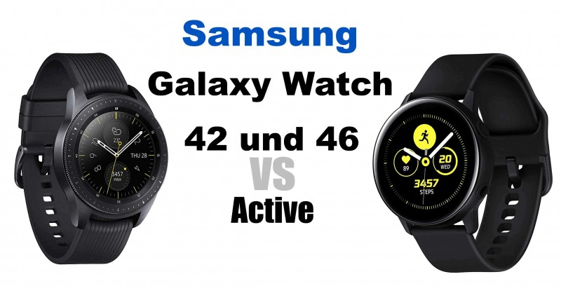 Samsung Galaxy Watch vs. Galaxy Watch Active - What are the differences?