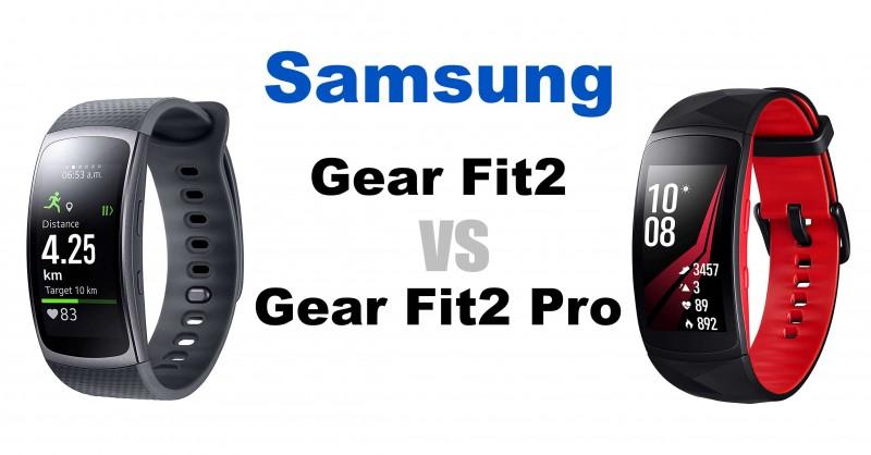 Samsung Gear Fit2 vs Gear Fit2 Pro - Wo sind die Unterschiede?