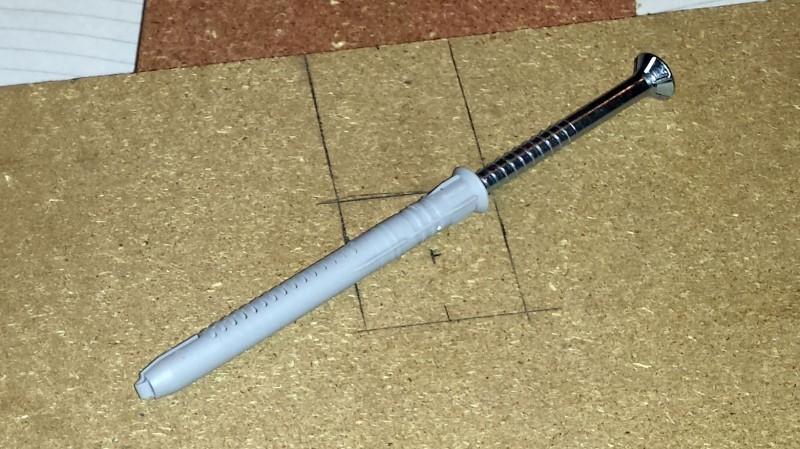Schraube für die Klimmzugstange (100mm)