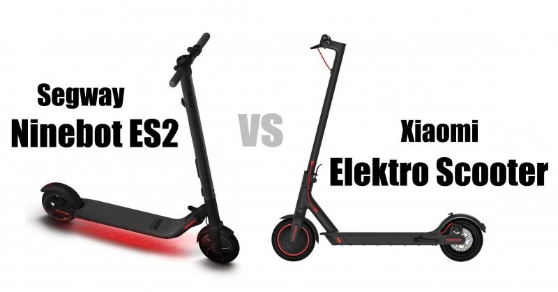 Segway Nintebot ES2 vs Xiaomi E-Scooter M365 - Welcher ist besser?