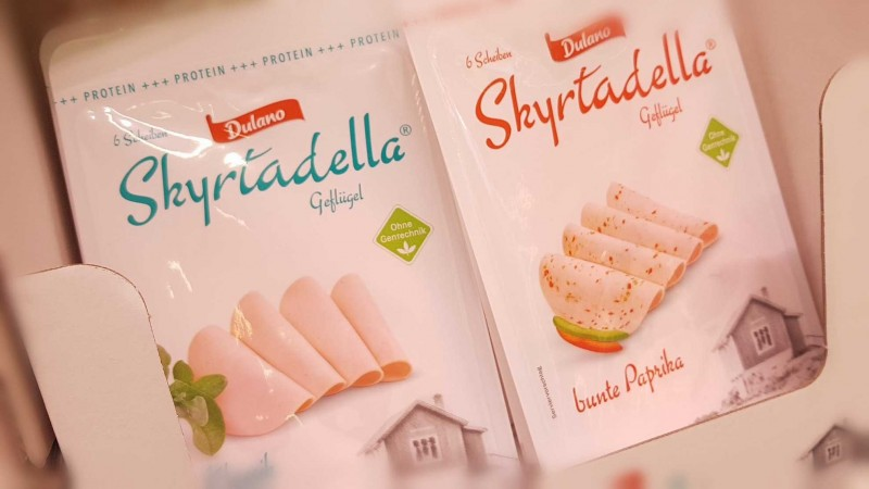 Skyrtadella - Skyr in Fleischwurst