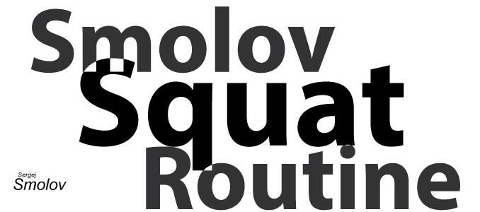 Smolov Squat Routine - Titelbild
