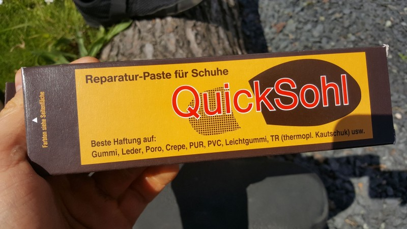 Reparaturpaste QuickSohl