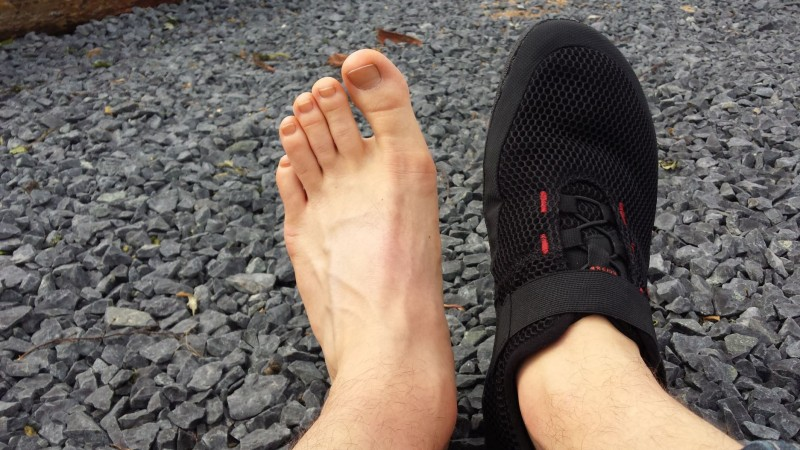 Der Sole Runner FX Trainer am Fuß