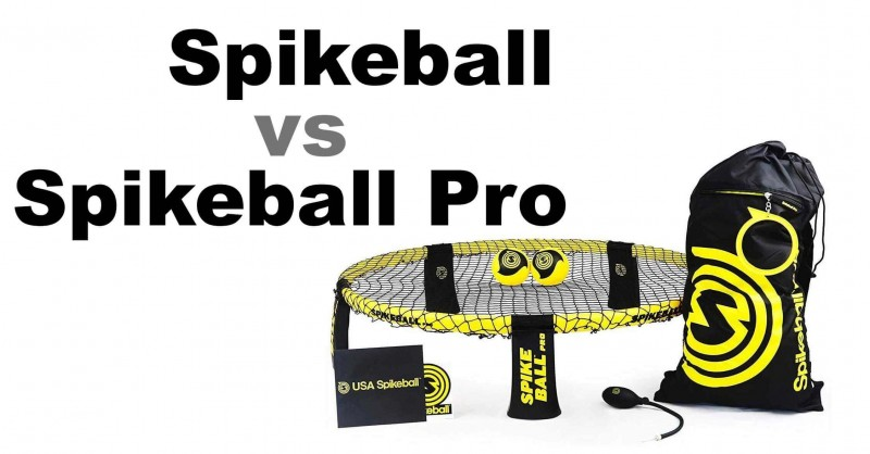 Spikeball vs Spikeball Pro - What are the differences?
