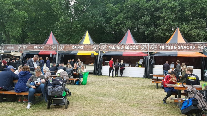 Essen und Trinken beim Strong Viking in Nijmegen