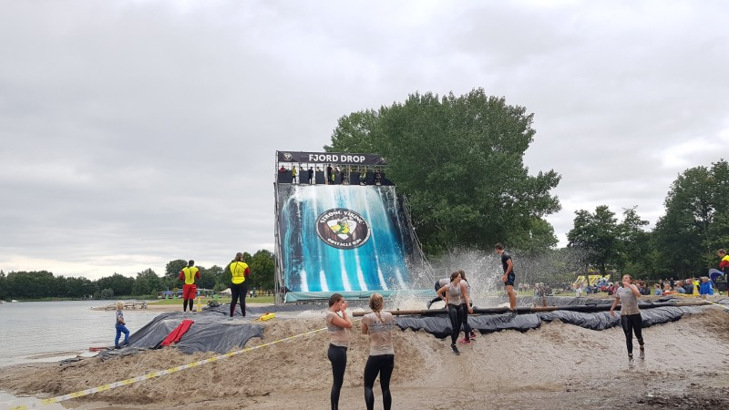 Fjord Drop beim Strong Viking 2018