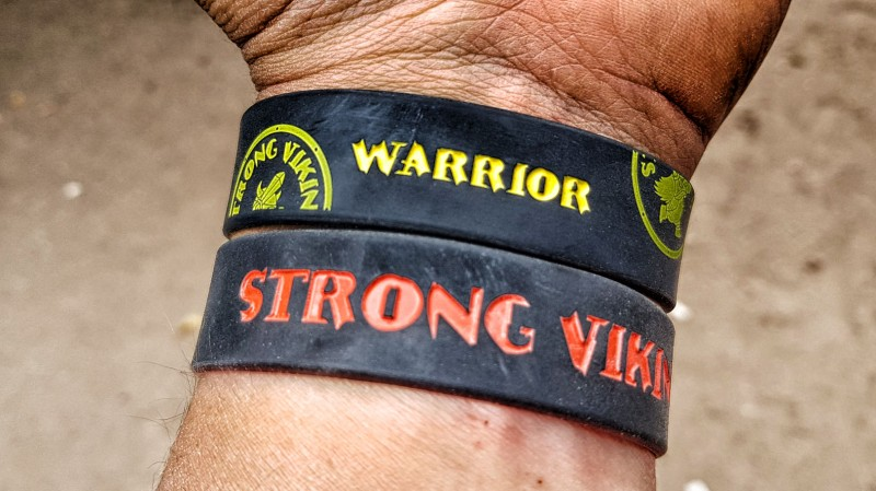 Finisher Band vom Strong Viking 2018