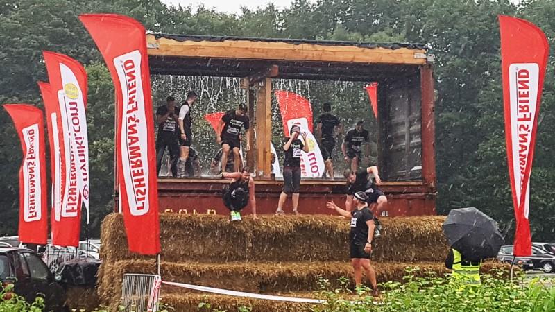 Hindernis Nummer 18 beim StrongmanRun in Köln 2017
