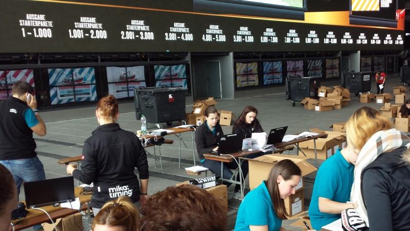 Anmeldung beim StrongmanRun 2017 am Nürburgring