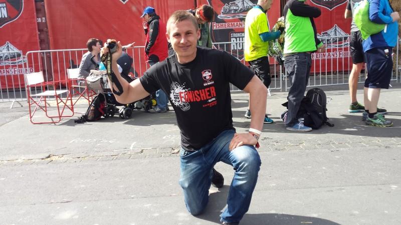 Ich beim StrongmanRun 2017 am Nürburgring