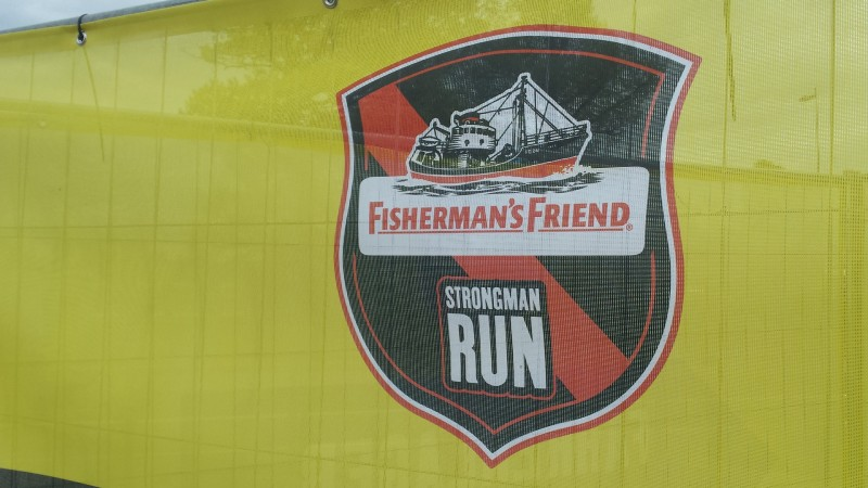 StrongmanRun Nürburgring 2017 - Schild