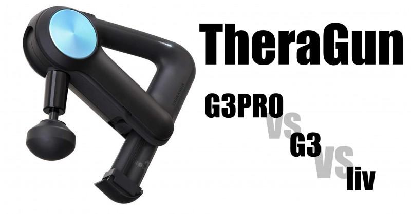 TheraGun G3PRO vs G3 vs liv - Wo sind die Unterschiede?