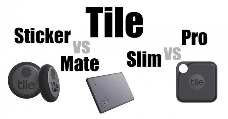 Tile Mate vs Slim vs Pro vs Sticker - Wo sind die Unterschiede?