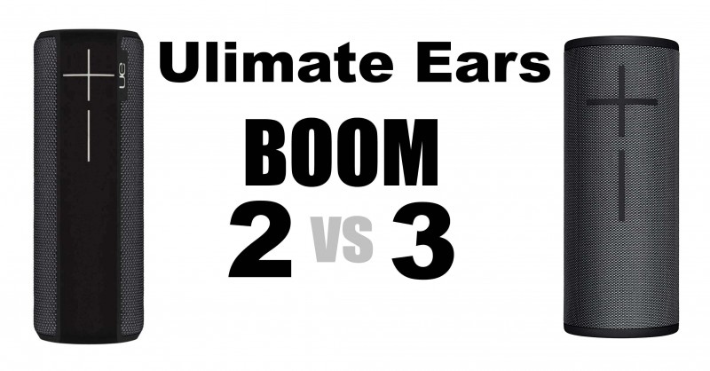 Ultimate Ears Boom 2 vs 3 - Where are the differences?