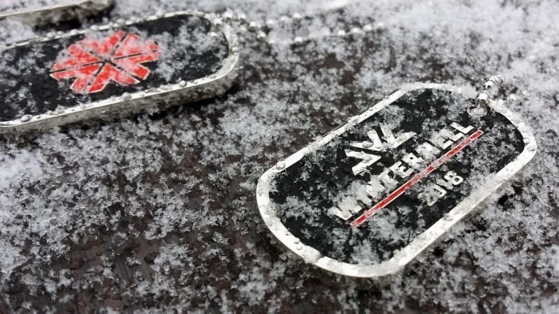 Die Medaille vom Winterhell 2018 am Nürburgring