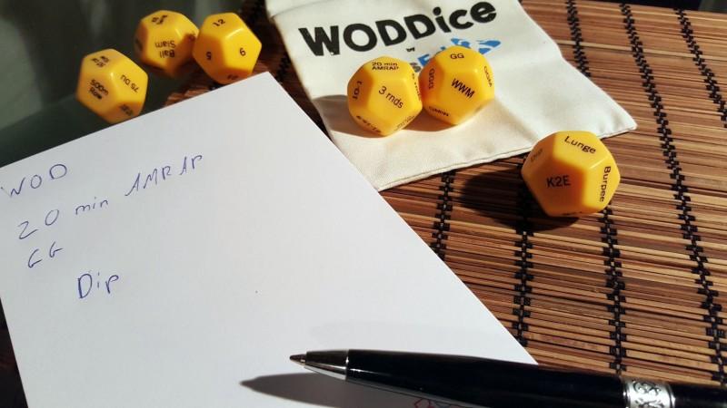 WOD mit den WODDice erstellen