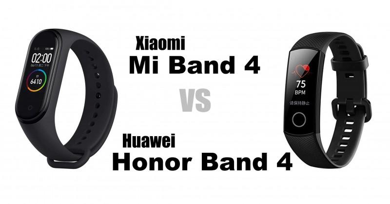 Xiaomi Mi Band 4 vs Huawei Honor Band 4 - Welches ist besser?