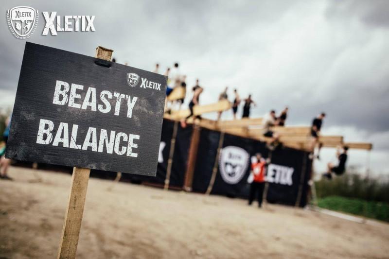Beasty Balance bei der XLETIX Challenge Rhein-Main 2015