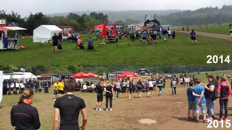 XLETIX Challenge Mitten in Deutschland - 2014 vs 2015