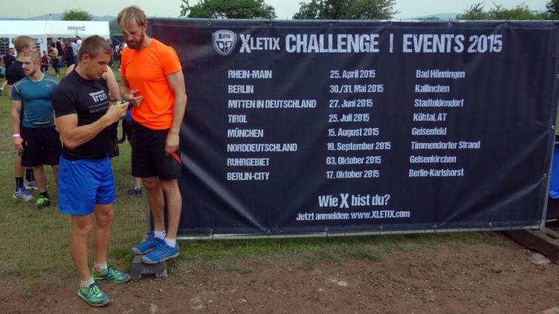 Eventkalender XLETIX Challenge für 2015