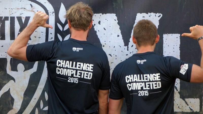 XLETIX Mitten in Deutschland 2015: Challenge Completed