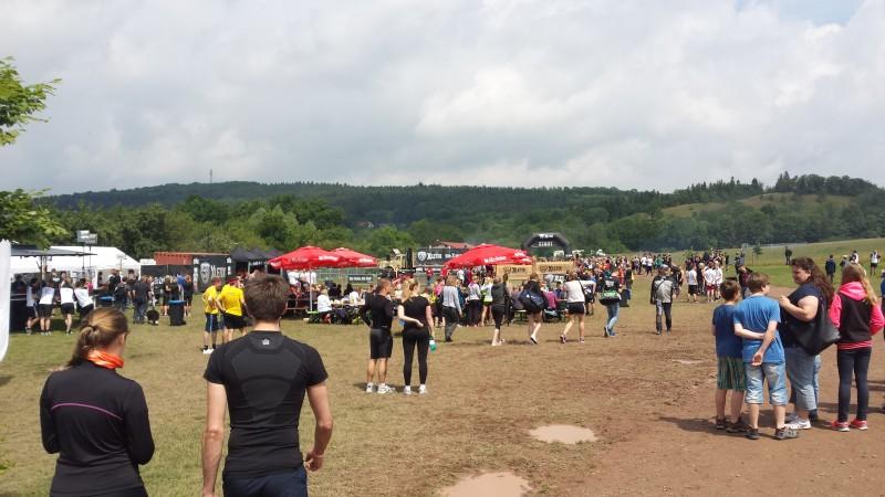 Mainarea bei der XLETIX Challenge Mitten in Deutschland 2015