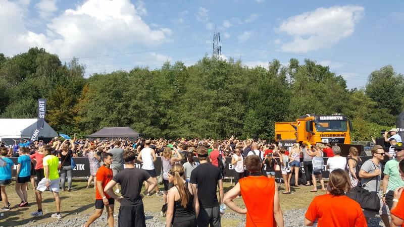 Warm Up XLETIX Challenge Ruhrgebiet 2016